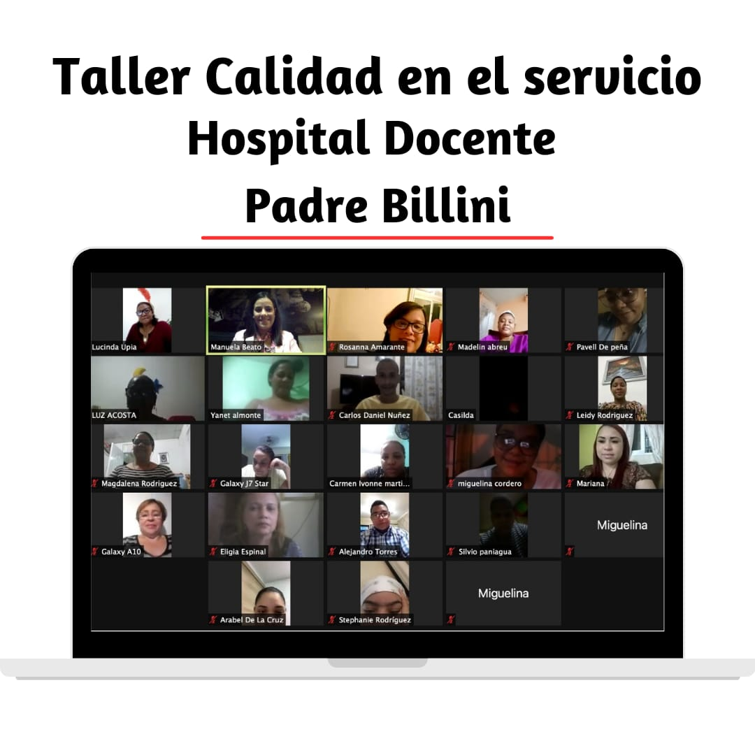 taller calidad de servicio hospital docente