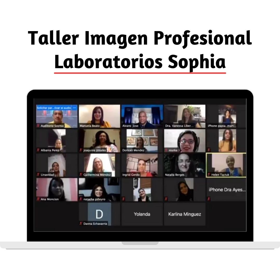 taller imagen empresarial laboratorio sophia